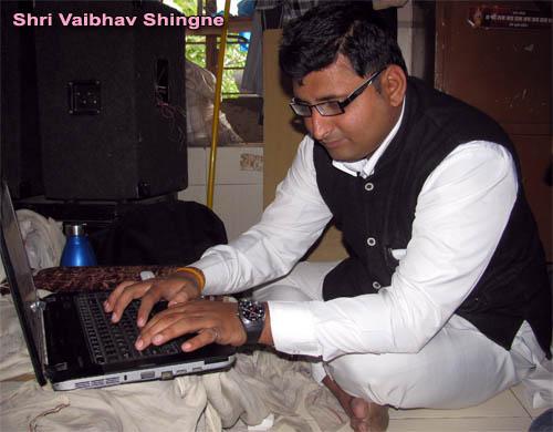Vaibhav Shingne, Tirth Purohit, Ram Ghat, Nashik